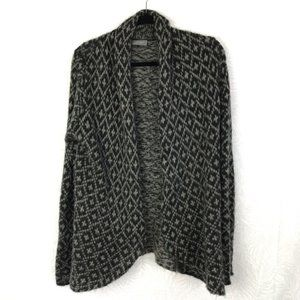 WOODEN SHIPS mohair wool open front cardigan AI9
